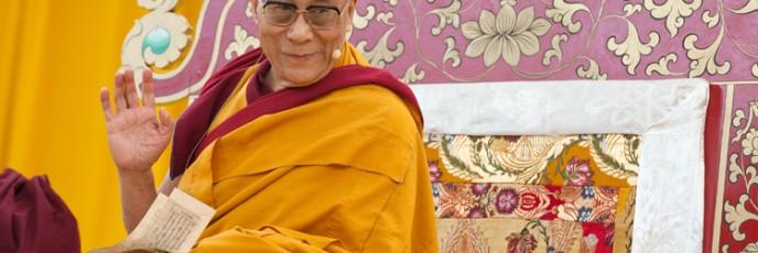 Dalai Lama Frankfurt/Bild Tamara von Rechenberg